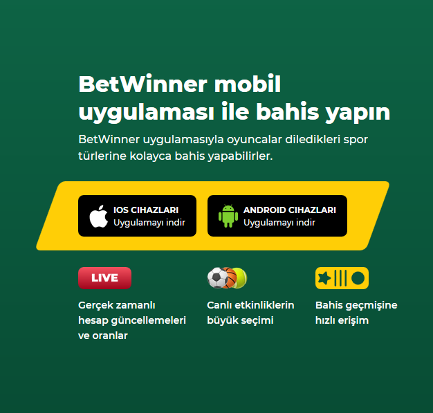 Betwinner mobil